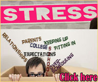 Stress in Teenagers - Click here