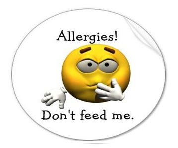 Allergies - Don't feed me