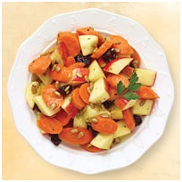 Carrot Apple & Cherry Salad