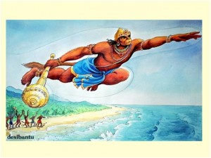 Hanumanasana 1