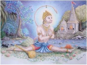 Hanumanasana 2