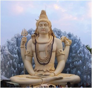 Lord Shiva in Dhyana mudra