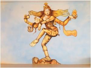 Lord shiva's tandavanritya is Natarajasana