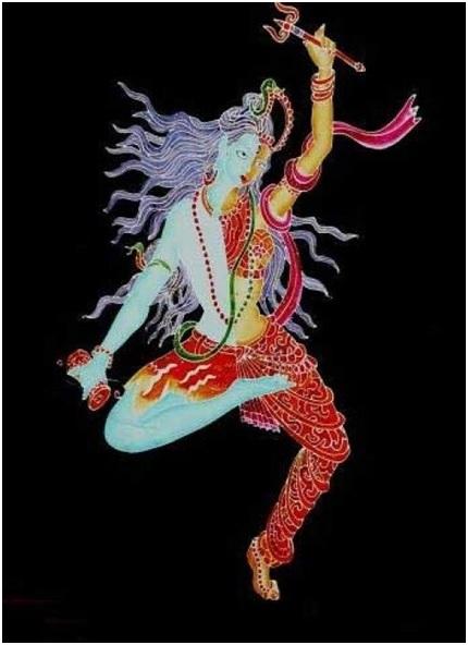 Vrikshasana of Lord Shiva & Parvathi