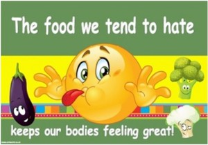 Foods we tend to hate