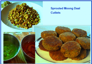 Sprouted Moong Daal