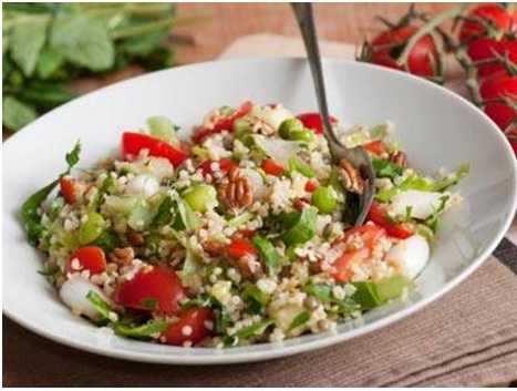 Couscous salad with sun dried tomato