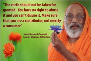 Inspiration Quotes of Swami Dayananda Saraswathi