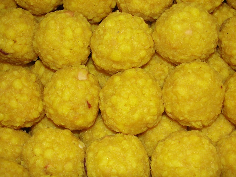 Thirupathi boondi laddu