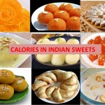 Calories in Indian Sweets