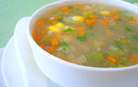SWEET CORN SOUP PREPARATION: SIMPLE RECIPE