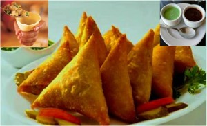 Traditional Indian Samosa