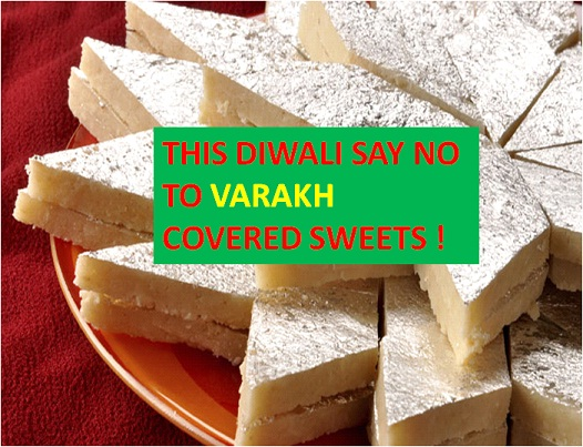 What Do You Know About Varakh (Silver Foil) On Sweets