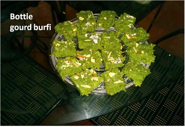 Bottle Gourd (Loki) Burfi