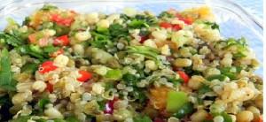Quinoa -moong daal khichadi