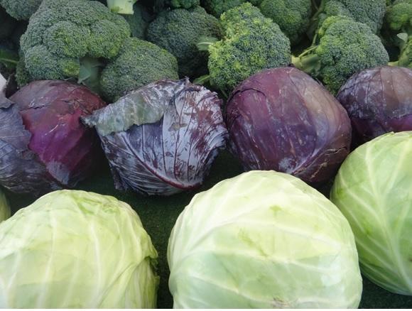 Broccoli & Cabbage