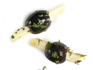 Cheese Sticks with Olives