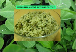 Fenugreek Rice