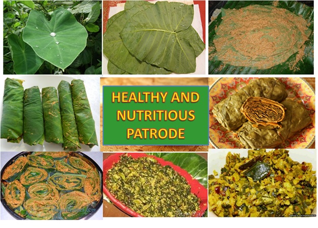 PATHRODE , PATRA -TRADITIONAL LEAF ROLL