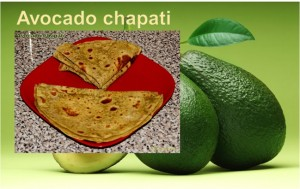 AVOCADO CHAPATI RECIPE