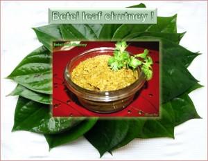 Betel Leaf Chutney