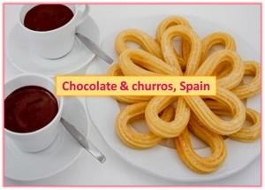 Chocolate and Churros, Madrid, Spain