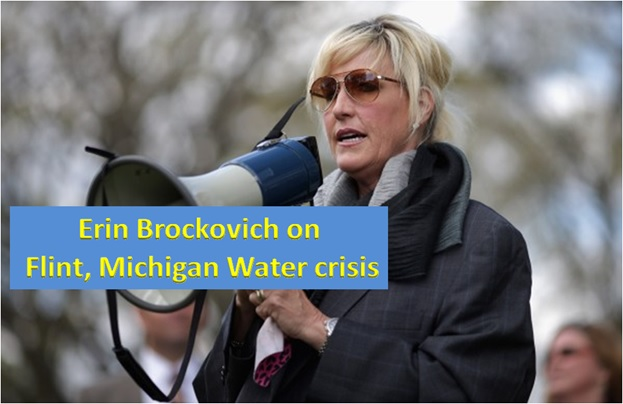 Must Read: Erin Brockovich: 'Flint, Michigan Is the Tip of the Iceberg'