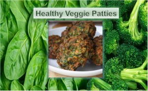 Spinach-Broccoli Veggie Patties