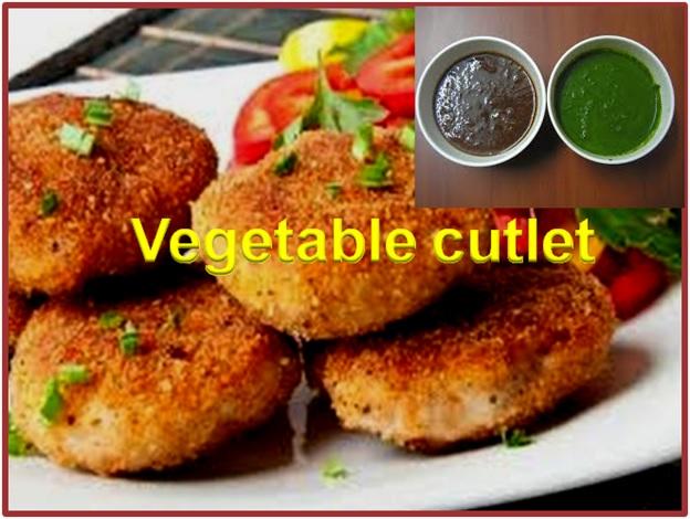 Vegetable Cutlet Recipe
