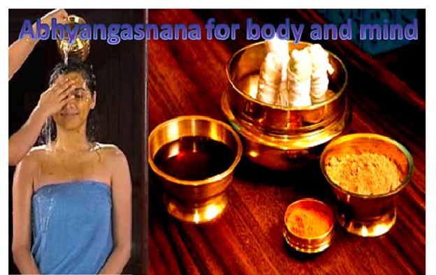 IMPORTANCE OF ABHYANGASNANA OR OIL BATH