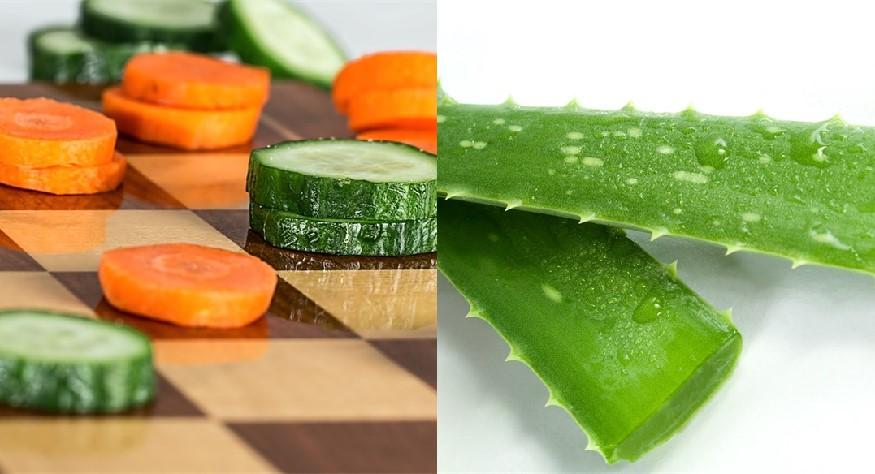 Aloe Vera, Cucumber & Carrot