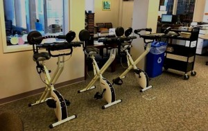 EXERCISE WHILE STUDYING - NEW CONCEPT INTRODUCED IN TROY COLLEGE