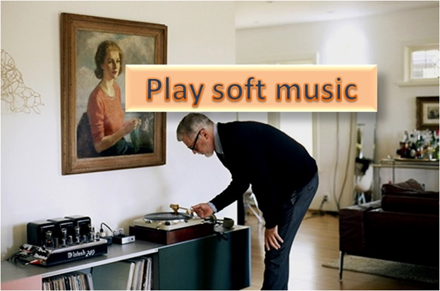 Play Soft Music
