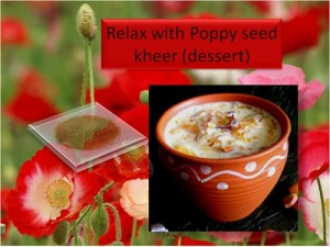 Relax With Poppy Seed Kheer (Dessert)