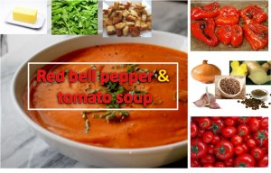 RED BELL PEPPER AND TOMATO SOUP
