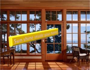 Sunshine inside your home
