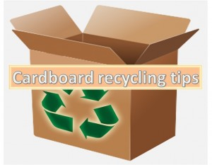 Cardboard Recycling Tips