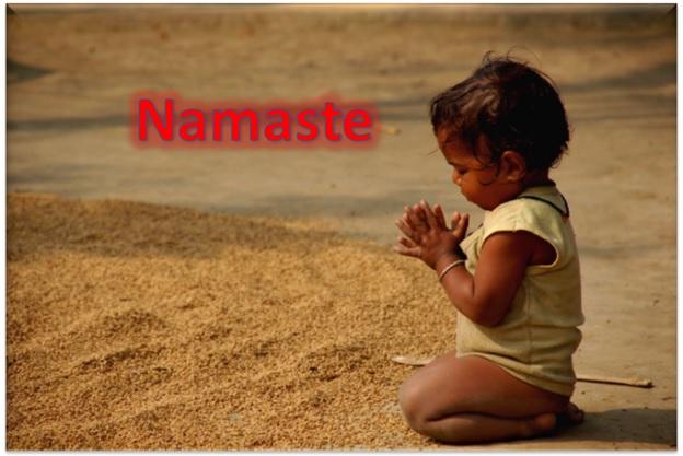 Namaste or Anjali Mudraa