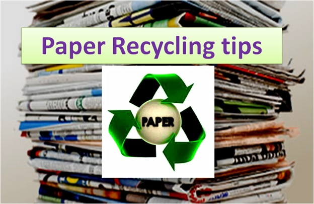 Paper Recycling Tips