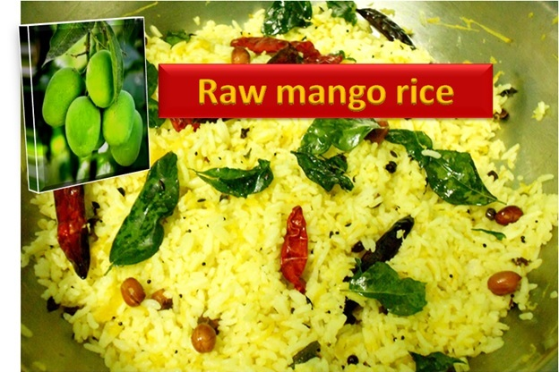 RAW MANGO RICE (MANGO CHITRANNA)