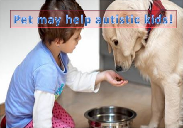 Pet may help autistic kids