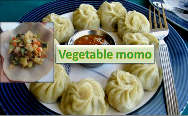 Vegetable Momo of Nepal