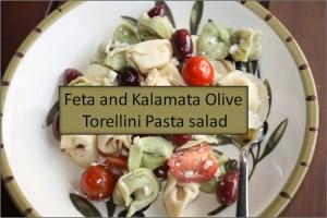Feta and Kalamata Olive Torellini Pasta Salad