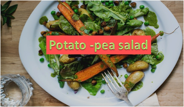 Potato-Pea Salad
