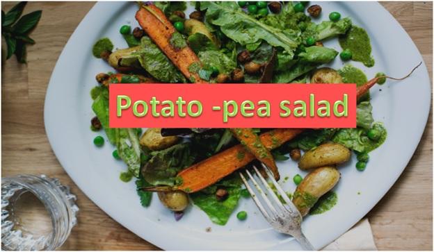 Potato-Pea Salad