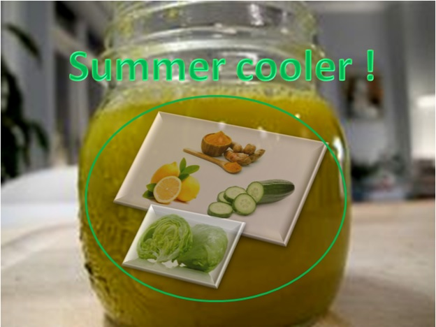 HOT SUMMER ? - Try this cooling juice