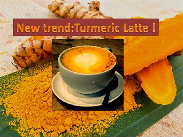 Say hello to Turmeric Latte - Golden milk - Haldi Doodh !