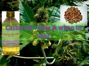 Grandma's Remedy: Castor oil for daily use