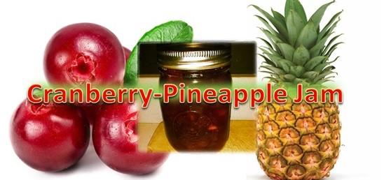 Cranberry Pineapple Jam