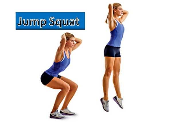 Jump Squat - To Loose Belly Fat